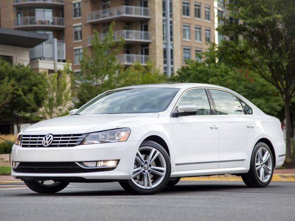 Volkswagen Passat из США